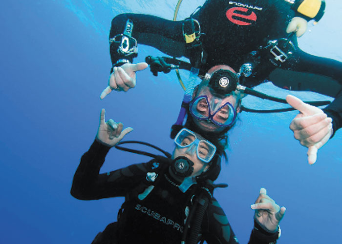 Discover Scuba Diving in the Sea